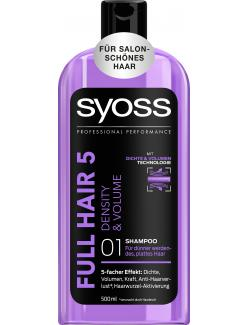 Syoss Full Hair 5 Density & Volume Shampoo (500 ml) - 4015100183788