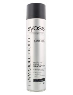 Syoss Invisible Hold Micro-Fine Fixation Haarspray (400 ml) - 4015100184228