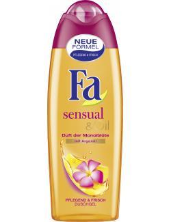 Fa Sensual & Oil Duschgel Duft der Monoiblüte (250 ml) - 4015000645751