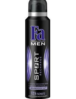 Fa Men Deo Spray Sport Recharge (150 ml) - 4015001014648