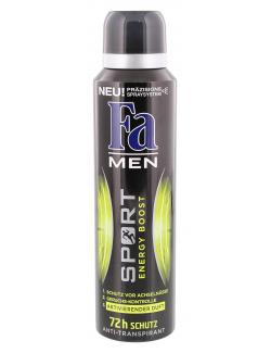 Fa Men Deo Spray Sport Energy Boost (150 ml) - 4015100183634