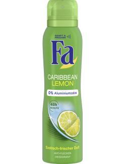 Fa Deodorant Caribbean Lemon Exotisch-frischer Duft