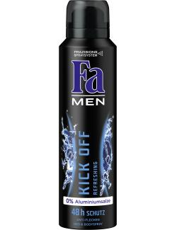 Fa Men Kick off Refreshing Deo & Bodyspray (150 ml) - 4015100181036