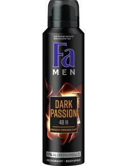 Fa Men Dark Passion Deospray Sensual Fresh