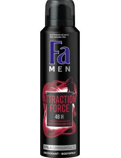 Fa Men Deo & Bodyspray Attraction Force (150 ml) - 4015100181074