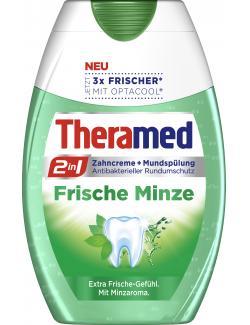 Theramed 2in1 Zahncreme + Mundspülung frische Minze (75 ml) - 4015100183993