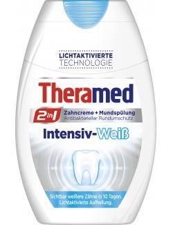 Theramed 2in1 Zahncreme + Mundspülung intensiv-weiß (75 ml) - 4015100181432
