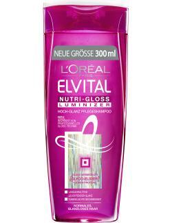 L'Oréal Elvital Nutri-Gloss Luminizer Shampoo (300 ml) - 3600523289776
