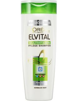 L'Orèal Elvital Multivitamin Shampoo (300 ml) - 3600523291434