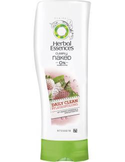 Herbal Essences Clearly naked Daily Clean Pflegespülung weiße Erdbeere & Minzextrakte (200 ml) - 4084500909816