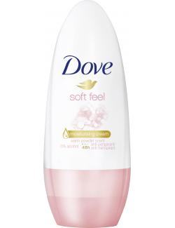 Dove Soft feel Deo Roll-On warm powder scent (50 ml) - 96110980