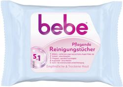 Bebe Young Care 5in1 pflegende Reinigungstücher (25 St.) - 3574661254180