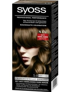 Syoss Professional Performance Coloration 5-8 Haselnuss (115 ml) - 4015100010534