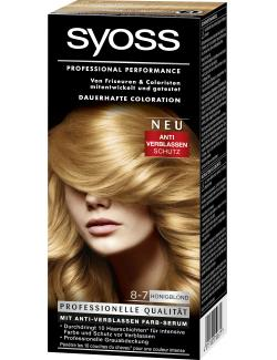 Syoss Professional Performance Coloration 8-7 honigblond (115 ml) - 4015100010671
