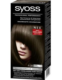 Syoss Professional Performance Coloration 4-98 Paris Brown (115 ml) - 4015100010596