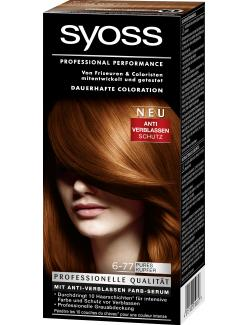 Syoss Professional Performance Coloration 6-77 pures Kupfer (115 ml) - 4015100010657