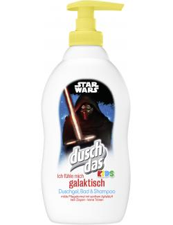Duschdas Kids Shampoo & Duschgel & Bad Star Wars (400 ml) - 8710908542138