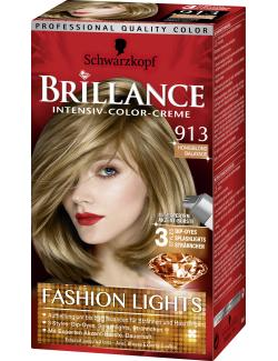 Schwarzkopf Brillance Color-Creme 913 Honigblond Balayage (143 ml) - 4015100180329
