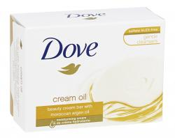 Dove Waschstück. Cream Oil Bar (100 g) - 8710908471667
