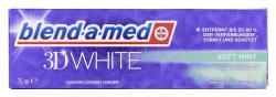 Blend-a-med Zahncreme 3D White Soft Mint (75 ml) - 8001090127907