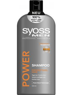 Syoss Men Power Shampoo (500 ml) - 4015100189261