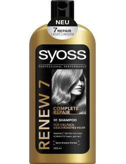 Syoss Renew 7 Complete Repair Shampoo (500 ml) - 4015100189117