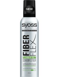 Syoss Fiber Flex Schaumfestiger flexibler Halt (250 ml) - 4015100191530
