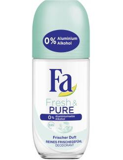 Fa Fresh & Pure Deo Roll-on frischer Duft (50 ml) - 4015100192353