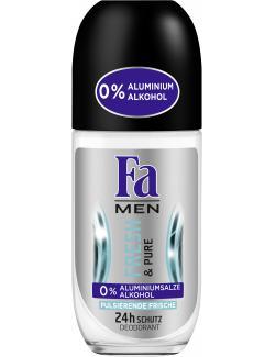 Fa Men Deo Roll-On Fresh & Pure (50 ml) - 4015100191431
