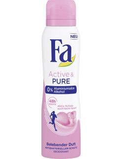 Fa Deo Spray Active & Pure Belebender Duft (150 ml) - 4015100191523