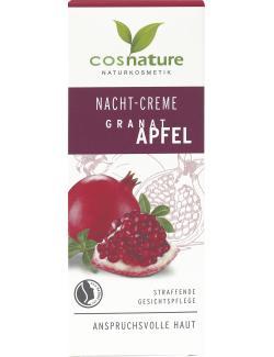 Cosnature Nacht-Creme Granatapfel