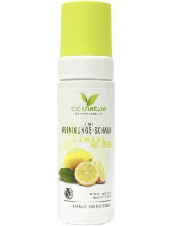 Cosnature 3 in 1 Reinigungs-Schaum Lemon & Melisse