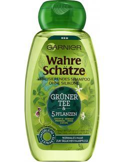 Garnier Wahre Schätze Vitalisierendes Shampoo Grüner Tee (250 ml) - 3600542023870