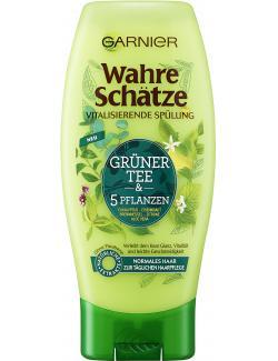 Garnier Wahre Schätze Spülung Grüner Tee & 5 Pflanzen (200 ml) - 3600542023887