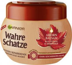Garnier Wahre Schätze Tiefenpflege-Maske Ahorn Balsam (300 ml) - 3600542015721