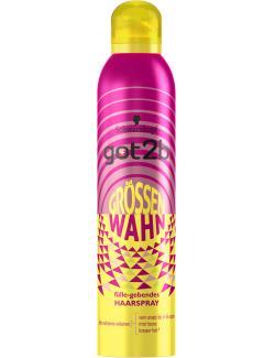 Schwarzkopf Got2b Haarspray Grössenwahn (300 ml) - 4015100190885