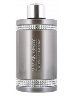 Vivian Gray Flüssigseife Crystal grey (250 ml) - 4250120733104