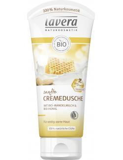 Lavera Sanfte Cremeduschel Bio Mandelmilch & Bio-Honig (200 ml) - 4021457620784