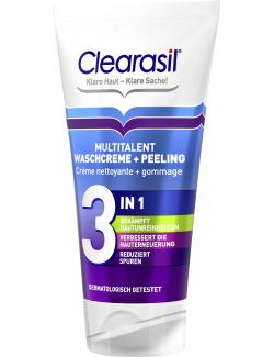 Clearasil Multitalent Waschcreme & Peeling 3in1 (150 ml) - 4002448098188