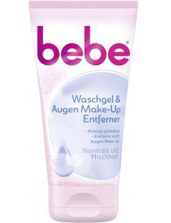 Bebe Waschgel & Augen Make-up Entferner (150 ml) - 3574661329734