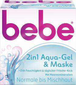Bebe 2in1 Aqua-Gel & Maske (50 ml) - 3574661321967