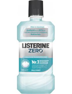 Listerine Mundspülung Zero (500 ml) - 3574661310374