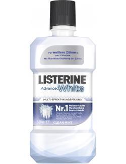Listerine Mundspülung Advanced White (500 ml) - 3574661310060