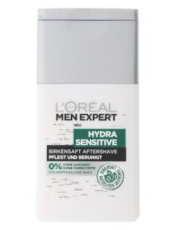 L'Oréal Men Expert Hydra Sensitive Birkensaft Aftershave (125 ml) - 3600523432684