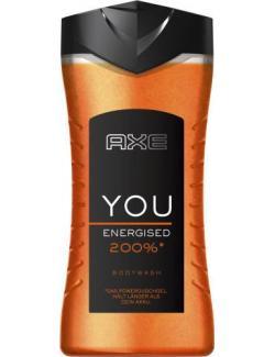 Axe YOU Energised Bodywash Duschgel (250 ml) - 8714100474785
