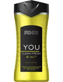 Axe YOU Clean Fresh Bodywash Duschgel (250 ml) - 8714100474990