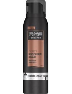 Axe Copper Duschschaum & Rasur Bergamot & Sandelwood (200 ml) - 8710447204313