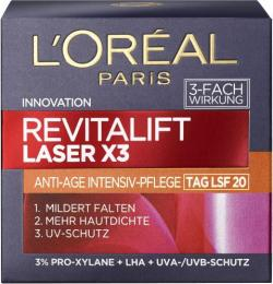 L'Oréal Revitalift Laser X3 Tagespflege LSF20 (50 ml) - 3600523456185