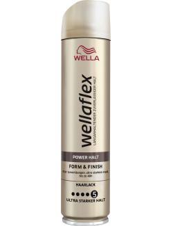 Wella Wellaflex Haarlack Power Halt Form & Finish ultra starker Halt