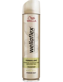 Wella Wellaflex Haarspray Farbbrillanz starker Halt